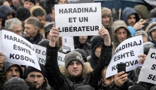 Protesti zbog Haradinaja 1