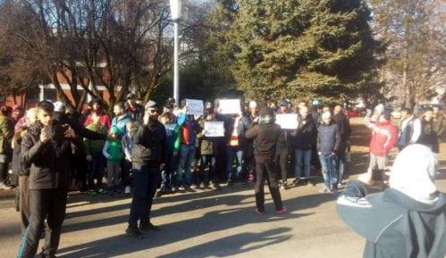Protest izbeglica u Hrvatskoj 8