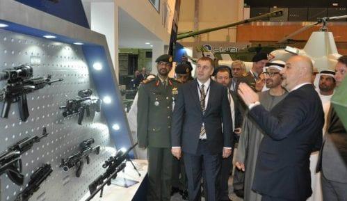 Bin Zajed posetio srpski štand na sajmu naoružanja 2