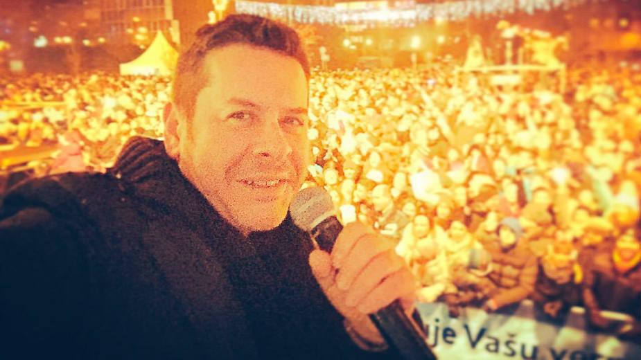 """Protest """"Koncert Vlada Georgieva - ipak ćemo održati"""" 1"""