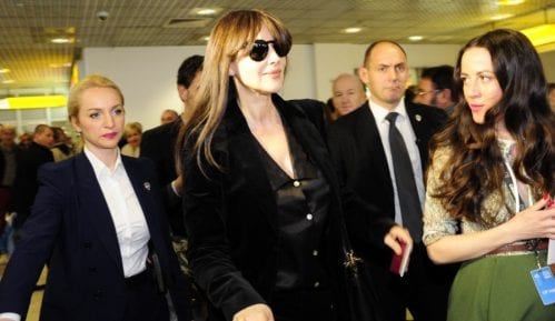 Monika Beluči stigla u Beograd 15