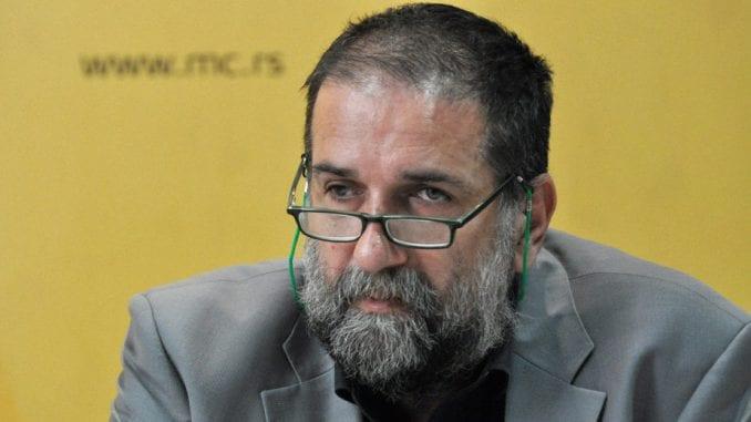 Obradović dao ostavku na mesto predsednika NUNS 1