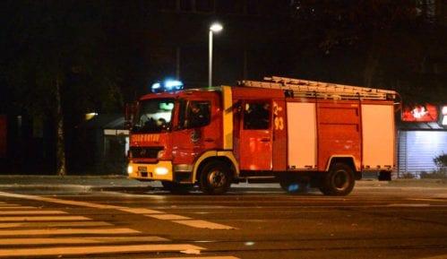 Zapalio se napušteni objekat na beogradskom Lionu, nema povređenih 4