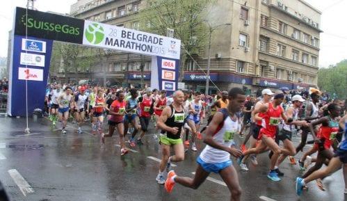 """Beogradski maraton: Od """"atrakcije"""" svi peru ruke 3"""