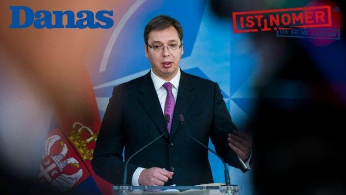 Neispunjena obećanja Vučića 2