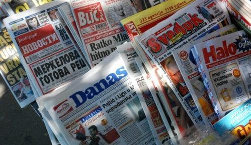 Medijska udruženja poslala dopis međunarodnim organizacijama 3