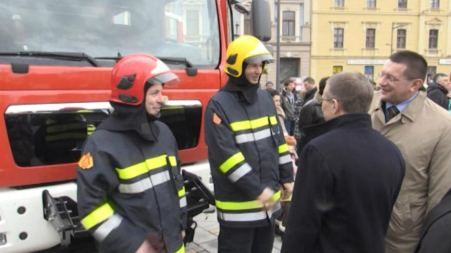 Vozila za policiju i vatrogasce u Zrenjaninu 1