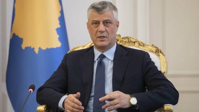 Hašim Tači: Nećemo dozvoliti stvaranje Republike Srpske na Kosovu 1