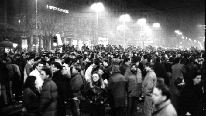 Godišnjica demonstracija 9. marta 1991. godine 1