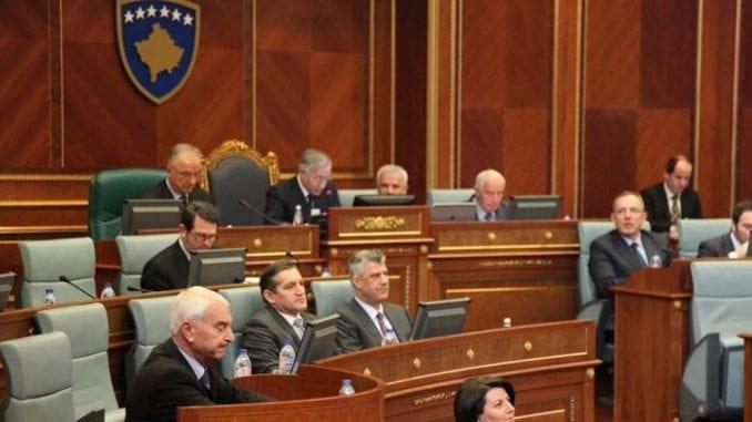 Na čelu Skupštine Kosova Glauk Konjufca, iz Samopredeljenja, a sa Srpske liste Slavko Simić 1