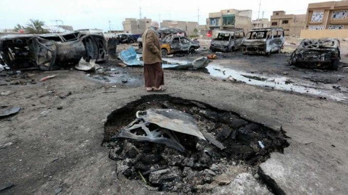 Devet žrtava tuče i požara u Bagdadu 1