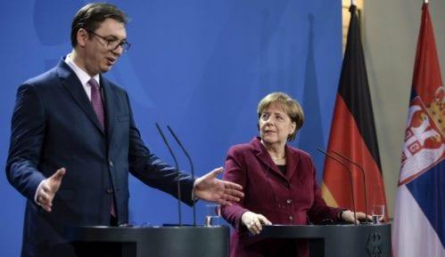 Merkel: Reforme u interesu privrednog razvoja Srbije 2