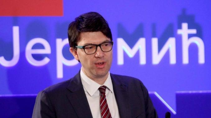 Jovanović: Opozicija da napusti institucije sistema 1