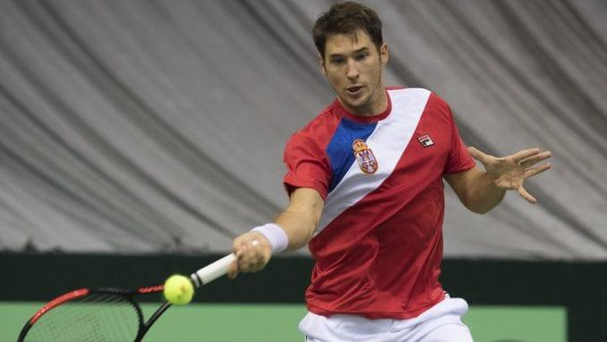 Lajović pobedio Fajzijeva u kvalifikacijama za Dejvis kup 1