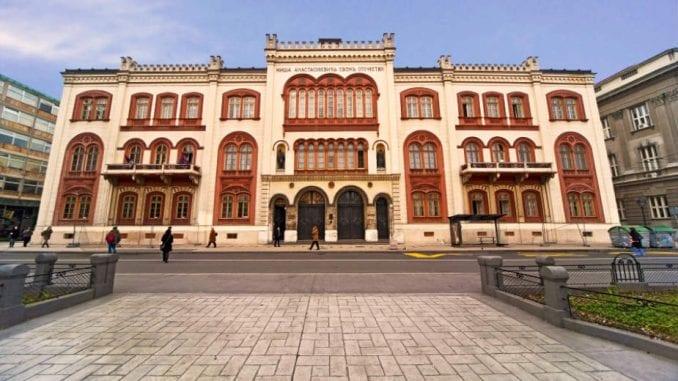 Jedan od pet miliona: Studenti se zaključali u Rektoratu 1