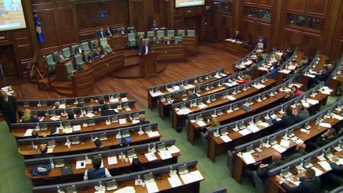 Skupština Kosova danas o tačkama koje nisu završene na prethodnim sednicama 1