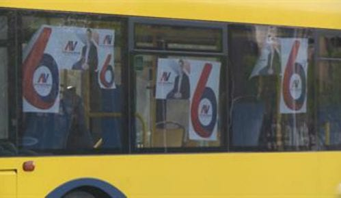 GSP autobusi za miting SNS 5