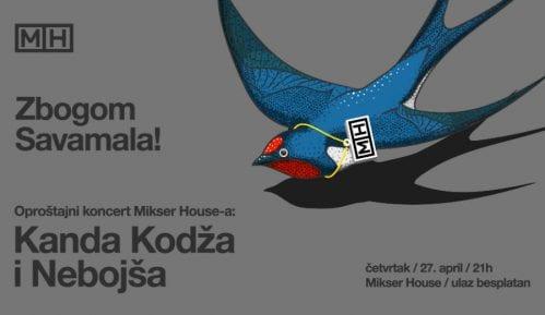 Oproštajni koncert Mikser House večeras u Savamali 10