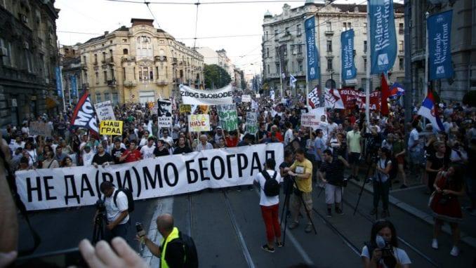 Okupljanje u 18 sati u Hercegovačkoj ulici 1