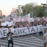 Deo organizatora protesta se povlači 7