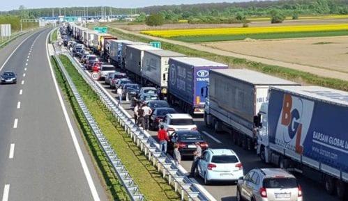 Gužve na granici Hrvatske i Slovenije 1