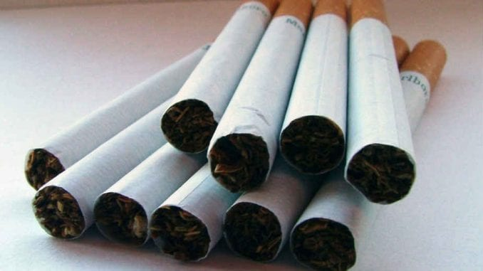 Zaplenjene cigarete vrednosti preko 1,5 miliona dinara 1