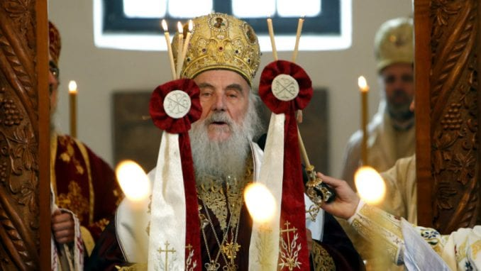 Patrijarh Irinej u Prizrenu 1