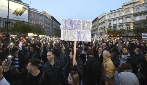 Protesti u Mađarskoj 12