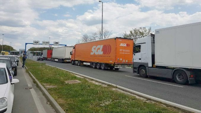 Višečasovna zadržavanja kamiona na graničnim prelazima 1