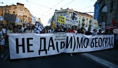 Počeo protest Inicijative Ne da(vi)mo Beograd 8