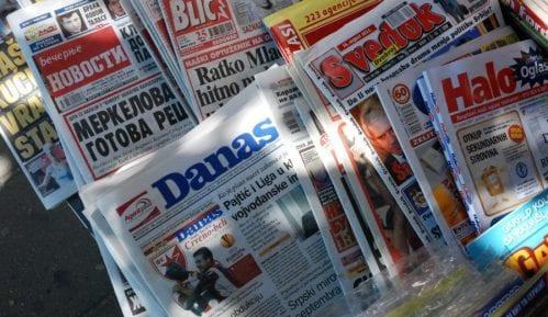 Srbija nazadovala na listi slobode medija 12