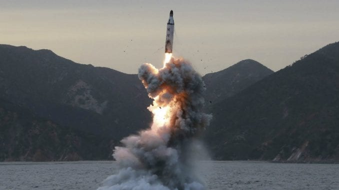 Pjongjang lansirao raketu 1