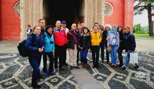 Novinari i turoperateri iz Bugarske u manastiru Žiča 2