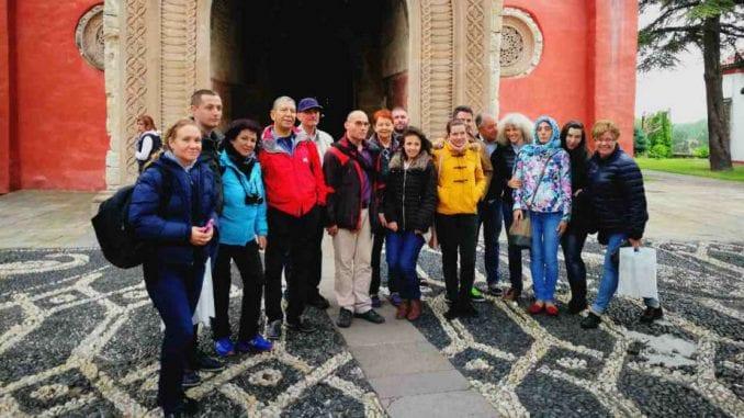 Novinari i turoperateri iz Bugarske u manastiru Žiča 1