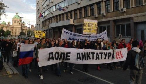 Protest protiv diktature 12. maja 1