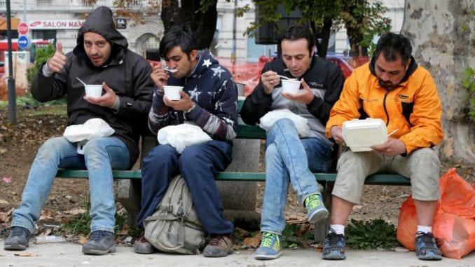 Izmeštena poslednja grupa migranata iz centra Beograda 5