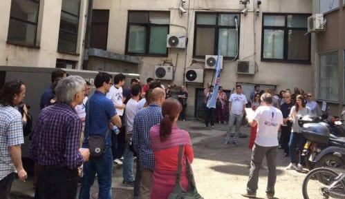 Održan štrajk upozorenja na RTV 15