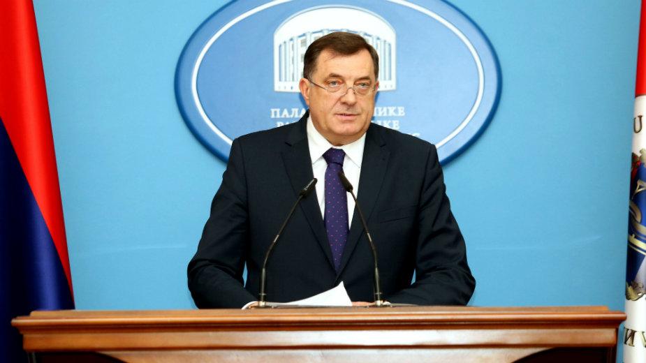 Dodik: Mešanje sa strane rasturiće Bosnu 1
