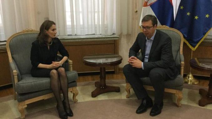 Vučić sa poverenicom o ravnopravnosti svih građana 1