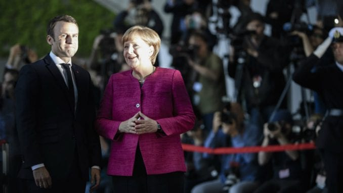 Merkel i Makron: Saradnja na izradi plana za reforme EU 4