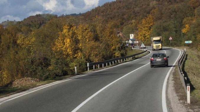 Usporen saobraćaj kod Čačka 1