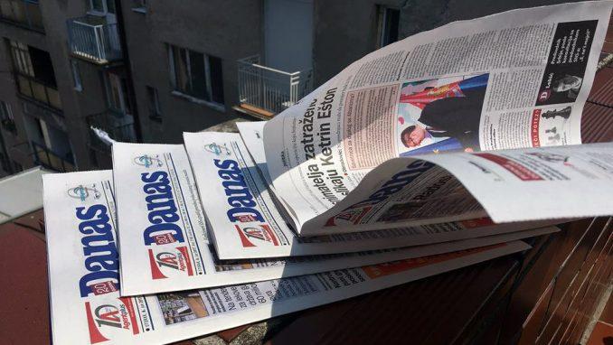 Razgovori petkom u dopisništvu Danasa u Novom Sadu 1