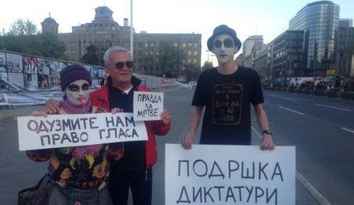 """Protest """"Protiv diktature"""" jednom do dva puta nedeljno 4"""