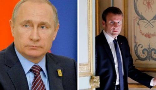 Sastanak Putina i Makrona u Versaju 8