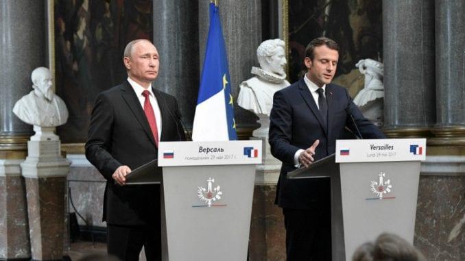 Makron i Putin za jaču saradnju u borbi protiv terorizma 2