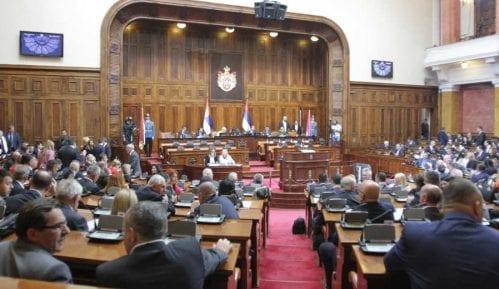 Počelo zasedanje Narodne skupštine Srbije 7