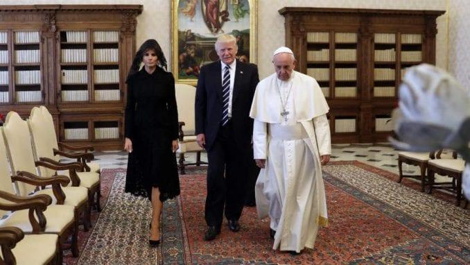 TRAMP: Fantastičan sastanak sa papom 1