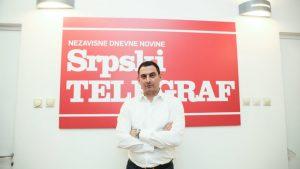 UNS: Policija hitno da identifikuje osobu koja je pretila uredniku Srpskog telegrafa 1