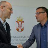 Ministar Nedimović Trivanu predao resor životne sredine 12