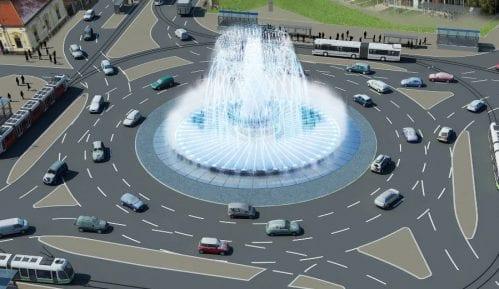 Vesić: Fontana sa 445 reflektora 3